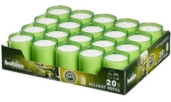 Relight refill support Kiwi Bolsius ø 52mm 24h