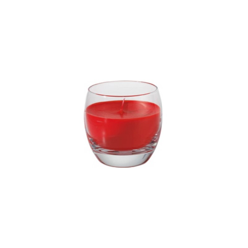 Bougie en verre Ellie sweet pink ø68 x 70 mm - 30h
