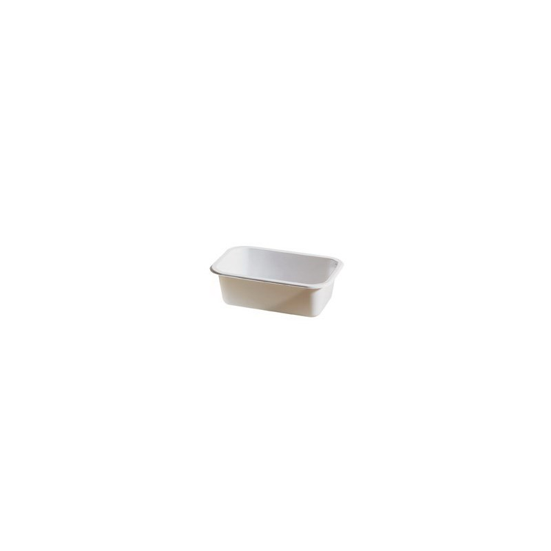 Barquette scellable CPET blanc 187 x 137 x 34 mm - liquidation