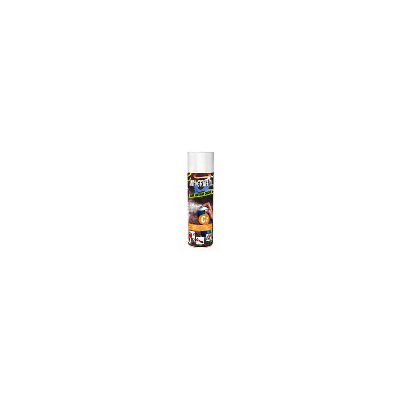Anti graffiti spray C2 surface peinte